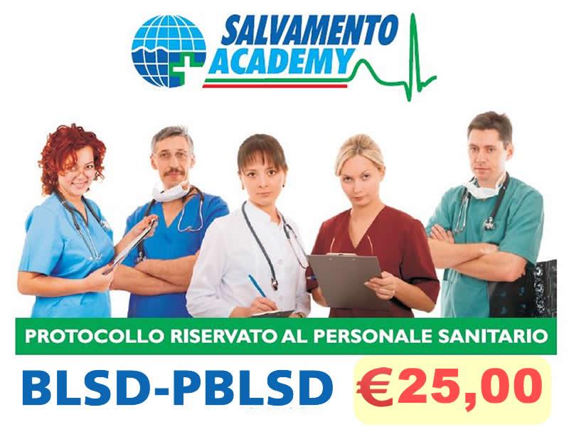 BLSD-PBLSD protocollo sanitario